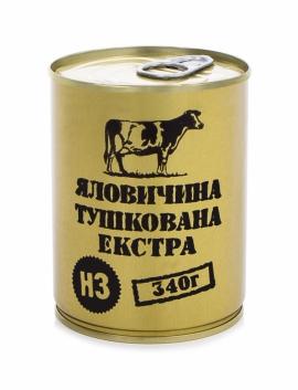 """Консервы мясные """"Говядина тушенная экстра"""""""