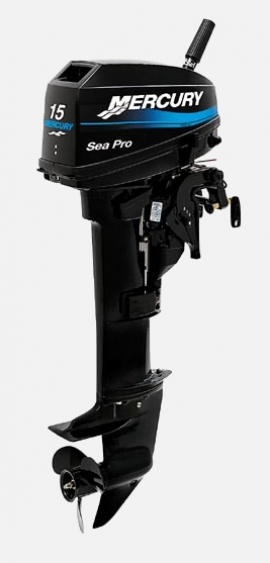 Лодочный мотор Mercury 15ML Seapro