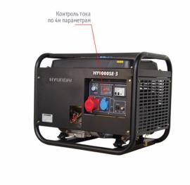 Генератор бензиновый HYUNDAI Professional HY 9000SE-3