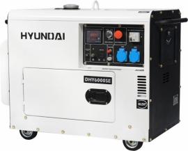 Генератор дизельный HYUNDAI PROFESSIONAL DHY 6000SE