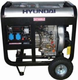 Генератор дизельний HYUNDAI Professional DHY 6000LE