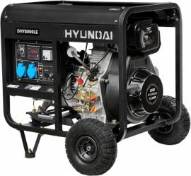 Генератор дизельний HYUNDAI PROFESSIONAL DHY 8000LE