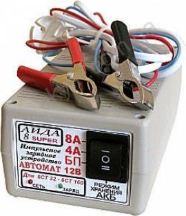 Зярядний пристрій до гелієвих акумуляторів