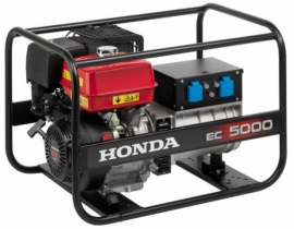 Генератор бензиновий Генератор бензиновый Honda ЕС 5000 GV