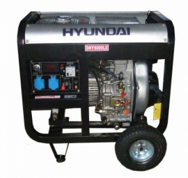 Генератор дизельный HYUNDAI Professional DHY 6000LE-3