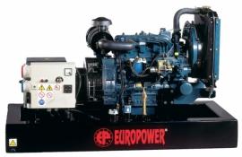 Генератор дизельний EUROPOWER EP183TDE