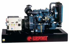 Генератор дизельний EUROPOWER EPS9TDE