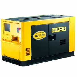 Генератор бензиновий KIPOR KDЕ16STA3