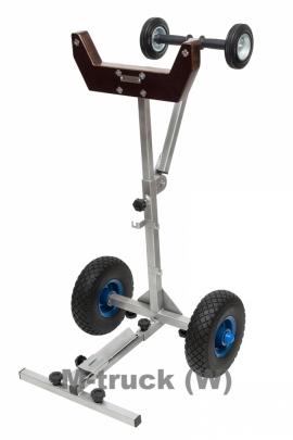 Телега транспортировочная для мотора до 90 кг