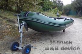 Пристрій для перевезення човна