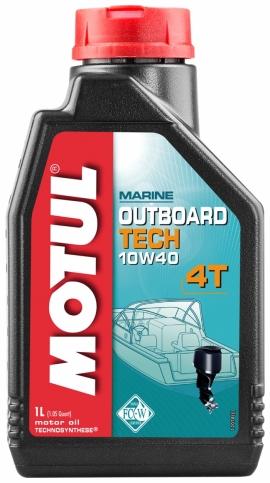 Масло Мотюль 10W30 для четырехтактных лодочных моторов