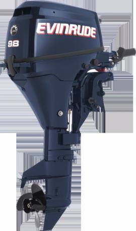Лодочный мотор Evinrude E10 RL4