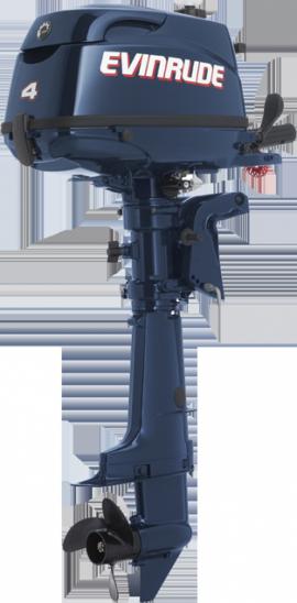 Лодочный мотор Evinrude E4 RL4