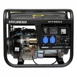 Генератор бензиновый HYUNDAI Professional HY 7000LE-3