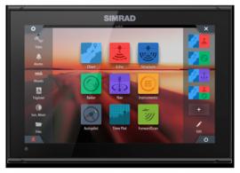 Дисплей Simrad G07