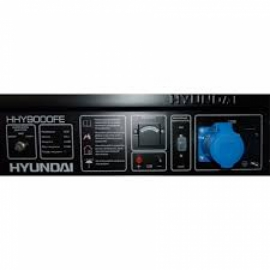 Генератор бензиновый HYUNDAI Hobby HHY 7000FE ATS