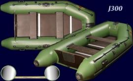 Килевая лодка Жаннин 330 от Фіордбоат