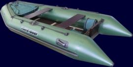 Килевая лодка Фиорд боат - Кажан 330