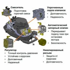 Лодочный мотор Mercury F5MH LPG