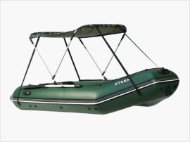 Тент летний на надувную лодку