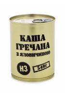 """Консервы мясорастительные """"Каша гречневая с говядиной"""""""