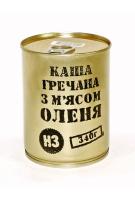 """Консервы мясорастительные """"Каша гречневая с мясом оленя"""""""