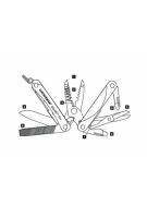 Мультитул Leatherman Squirt ES4