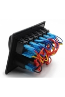 Панель на 6 выключателей c USB