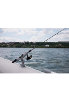 Держатель для спиннинга на борт надувной лодки